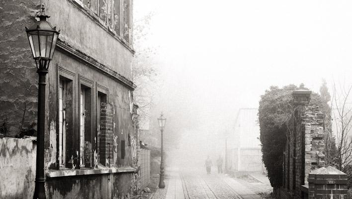 Lutherstadt Wittenberg - Stadt im Nebel